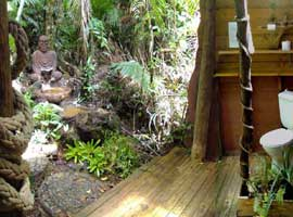 Daintree accommodation in rain forest bungalow
